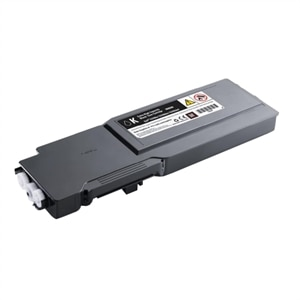 3//PK-26000 Page Yield 332-18743PK - Generic AIM Compatible Replacement for Dell C7765DN Black Toner Cartridge