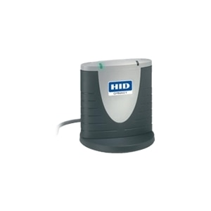 HID OMNIKEY 3121 - SMART card reader - USB 2 0 - two-tone gray MOQ