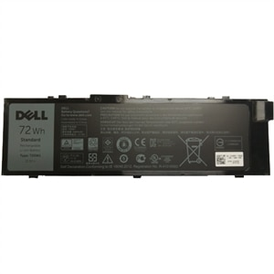 Dell 72 WHr 6-Cell Primary Lithium-Ion Battery