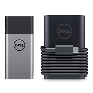Dell Hybrid Adapter + Power Bank USB-C | PH45W17-CA - 45W AC Adapter + Power Adapter Plus - 45W
