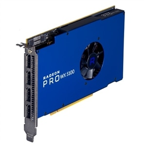 Radeon Pro WX 5100, 8GB, 4 DP, (Precision)(Customer KIT)