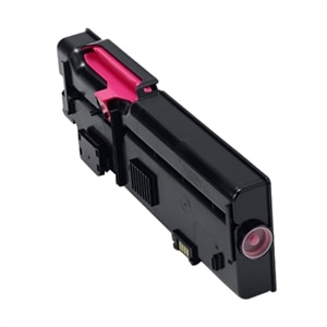 C2665dnf Series Printer Compatible High Yield 593-BBBS Toner Cartridge use for Dell C2660 Magenta 2-Pack C2660dn Up to 4,000 Pages per Cartridge