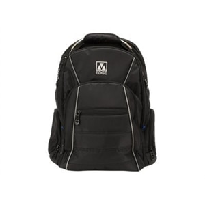 M-Edge Cargo Backpack with Battery - Laptop carrying backpack - 17-inch - black