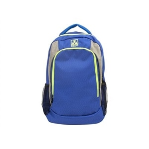 M-edge Relay - Backpack with built-in battery - blue, lime