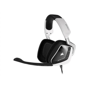 Corsair Gaming VOID PRO RGB - Headset - full size - wired - USB - white