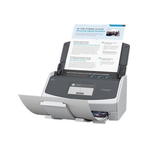 Fujitsu ScanSnap iX1500 - Document scanner - Duplex - 8.5 in x 118 in - 600 dpi x 600 dpi - up to 30 ppm (mono) / up to 30 ppm (color) - ADF (50 sheets) - Wi-Fi, USB 3.1 Gen 1