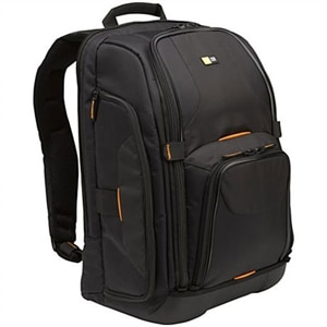 Case Logic SLR Camera/Laptop - Backpack for camera with lenses and Laptop - nylon - black
