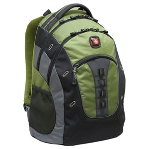 Swiss Gear GRANITE Backpack - Fits Laptops with Screen Sizes Up to 15.6-inch - Green