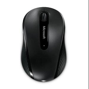 Microsoft Corporation Wireless Mobile Mouse 4000 - Black