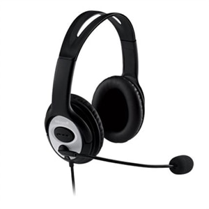 Microsoft LifeChat LX-3000 - Headset - full size - wired - USB - black