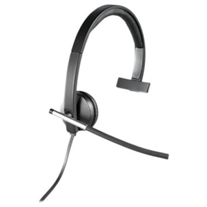 Logitech H650e Wired USB Headset - Mono