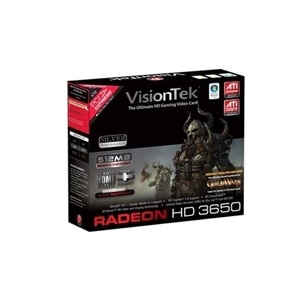 VisionTek  Radeon HD 3650 512MB DDR2 PCI Express x16 Graphics Card - 900232