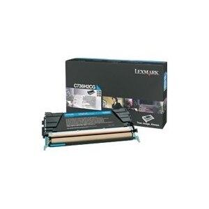 Lexmark - High Yield - cyan - original - toner cartridge LCCP - for