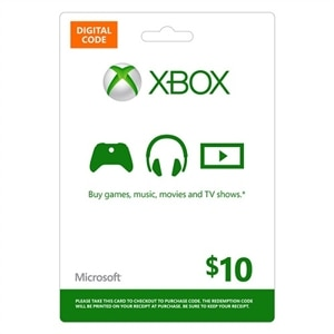 XBOX Live $10 Digital Gift Card | Dell USA