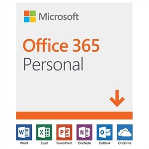 Microsoft Office 365 Personal 32-bit/x64 1 Year Subscription