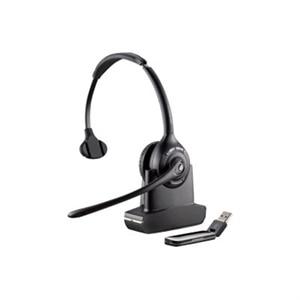 Plantronics Savi W410 - 400 Series - headset - full size - DECT 6 0