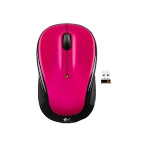 Logitech M325 Wireless Mouse - Brilliant Rose