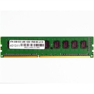 2GB DDR3L 1333 MHz (PC3-10600) ECC UBE 1Rx8 8K Low Voltage UDIMM