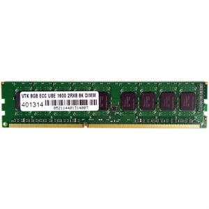 8GB DDR3 1600 MHz (PC3-12800) ECC UBE 2Rx8 8K Unbuffered UDIMM