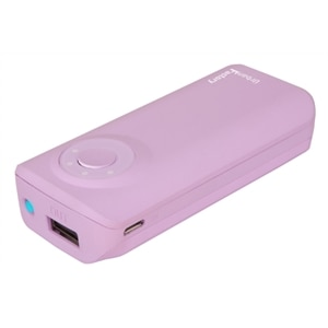 Urban Factory Emergency Battery - External battery pack 5600 mAh - Light Pink