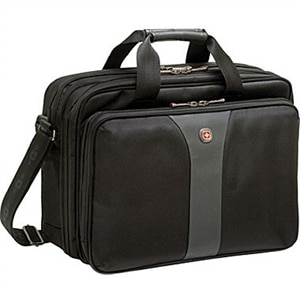 Wenger LEGACY 16-inch Double Gusset Laptop Case - Laptop carrying case - 16-inch - black gray