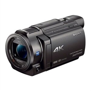 Sony Handycam FDR-AX33 - Camcorder - 4K - 18.9 MP - 10x optical zoom - Carl Zeiss - flash card - Wi-Fi, NFC - black