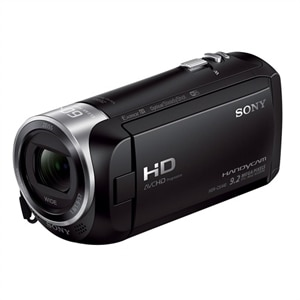 Sony - Handycam CX440 Flash Memory Camcorder - Black HDRCX440/B