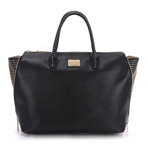 Sandy Lisa Milan Wing Tote - Laptop carrying case - 15.6-inch - black