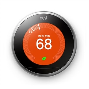 Nest Learning Thermostat 3rd Generation, Stainless Steel