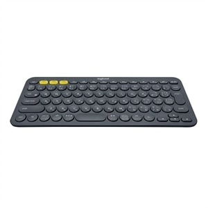 Logitech K380 Multi-Device Keyboard - Bluetooth - Black