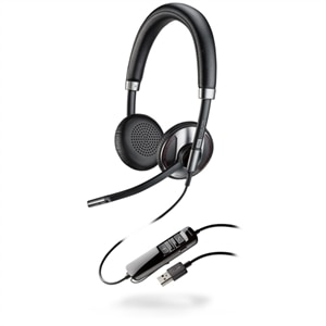 Plantronics Blackwire C725-M - 700 Series - headset - on-ear - wired - active noise canceling - USB