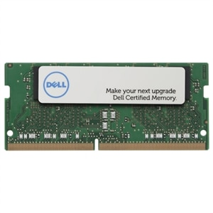 Dell Memory Upgrade - 4GB - 1RX8 DDR4 SODIMM 2133MHz ECC