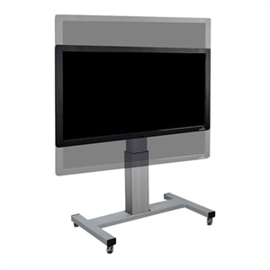 datamation systems ds sceta cart for lcd plasma panel screen size 42 inch 100 inch dell. Black Bedroom Furniture Sets. Home Design Ideas