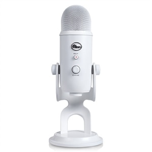 Blue Yeti USB Microphone - Whiteout
