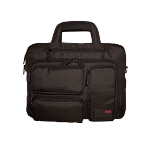 Mobile Edge Corporate 16-inch Laptop & Tablet Briefcase - Laptop carrying case - 16-inch - black