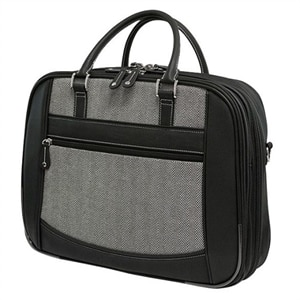 Mobile Edge ScanFast Checkpoint Friendly 15.6-inch Laptop & Tablet Herringbone Element Briefcase Laptop carrying case