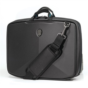 Alienware Vindicator V2.0 Laptop Carrying Case - Black/Teal - 17.3 Inch