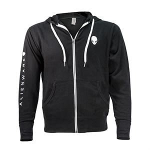 Alienware Heather French Terry Zip Hoodie - Size XXL