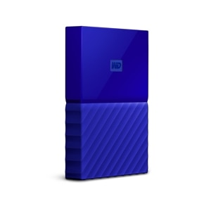 WD My Passport portable 1TB USB 3.0 external hard drive - Blue | Dell United States
