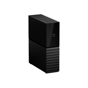 WD My Book 6TB USB 3.0 desktop hard drive with password protection and auto