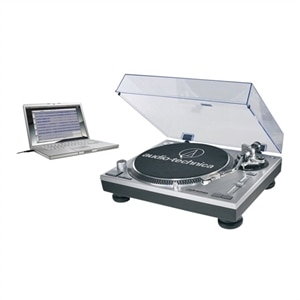 Audio-Technica AT-LP120-USB Direct Drive Professional Turntable with USB (Black)
