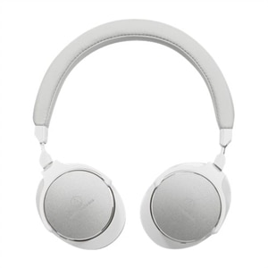 Audio-Technica ATH-SR5BTWH - Headphones with mic - on-ear - Bluetooth - wireless - NFC - white