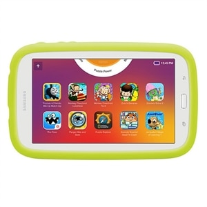 "Samsung Galaxy Kids Tab E Lite - 7"" 8GB (Wi-Fi) Tablet with Bumper Case - Cream White"