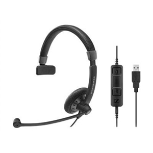 Sennheiser SC 45 USB CTRL - Culture Plus Mobile - headset - on-ear - wired - black
