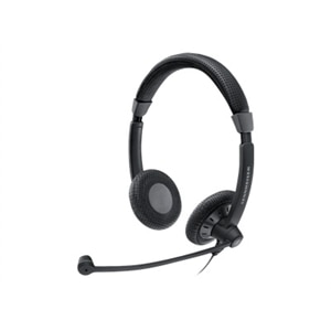Sennheiser SC 75 - Culture Plus Mobile - headset - on-ear - wired - active noise canceling - 3.5 mm jack - black