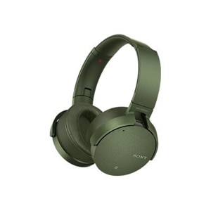 Sony MDR-XB950N1 - Headphones - on-ear - wireless - Bluetooth - green