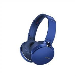 Sony MDR-XB950B1 - Headphones - on-ear - wireless - Bluetooth - blue