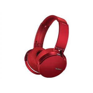 Sony MDR-XB950B1 - Headphones - on-ear - wireless - Bluetooth - red