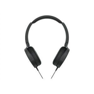 Sony MDR-XB550AP - Headphones with mic - on-ear - 3.5 mm jack - black