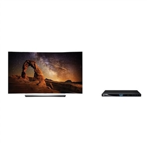 LG OLED65C6P - 65-inch Class C6 Series curved 3D OLED TV